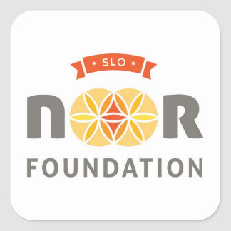 SLO Noor Square Sticker