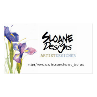 sloaneartist pack of standard business cards