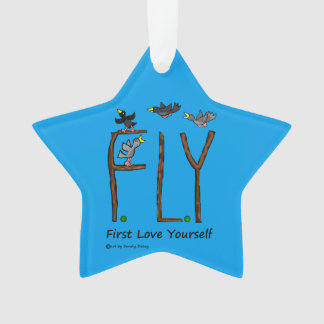Slogan FLY First Love Yourself
