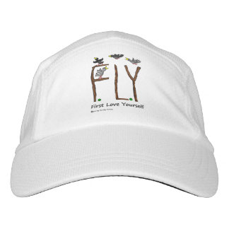 Slogan FLY First Love Yourself Hat