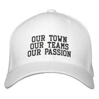 Slogan Hat - Flex Fit Embroidered Hat