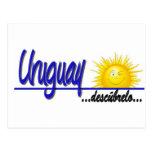 slogan Uruguay sol Tarjetas Postales