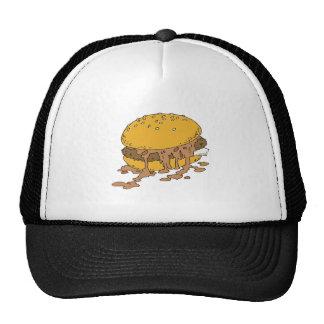 sloppy chili burger cap
