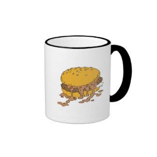 sloppy chili burger ringer mug