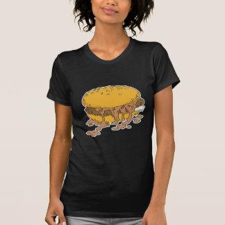 sloppy chili burger tee shirt