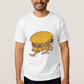 sloppy chili burger tshirts
