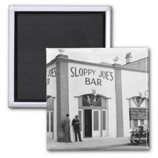 Sloppy Joe s Bar Key West 1930s Fridge Magnet