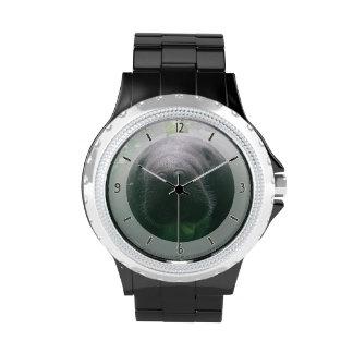 Sloppy Manatee Watch rhinestone