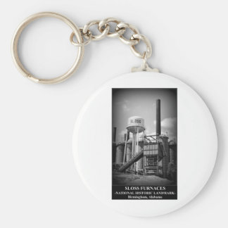 SLOSS FURNACES - National Historic Landmark Key Ring
