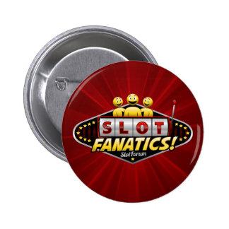 Slot Fanatics 6 Cm Round Badge