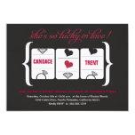 Slot Machine Bridal Shower 13 Cm X 18 Cm Invitation Card