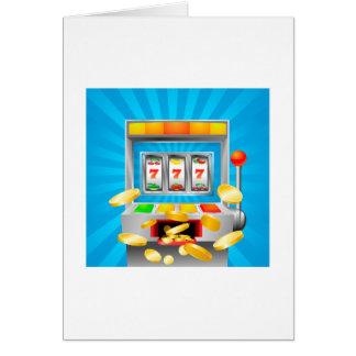 Slot Machine Card