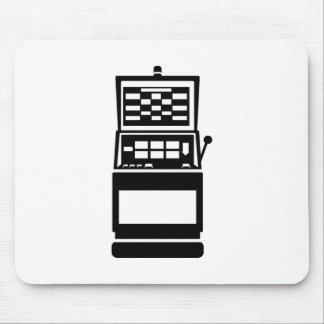 Slot machine casino mousepad