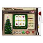 Slot Machine Christmas Card