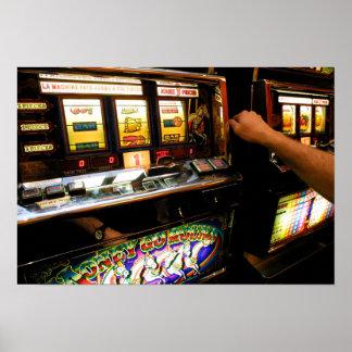 Slot Machine Closeup Posters
