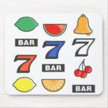 Slot Machine Gamblers Mouse Pad