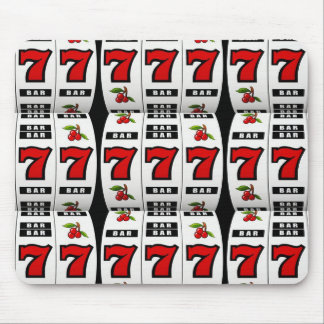 Slot Machine Lovers Mouse Pad