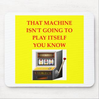 slot machine mouse pad