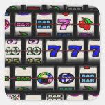 Slot Machine Reels Stickers