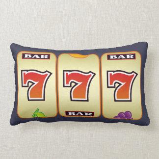 slot machine sevens lumbar cushion