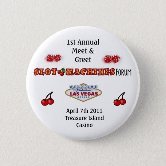 Slot Machines Forum 6 Cm Round Badge