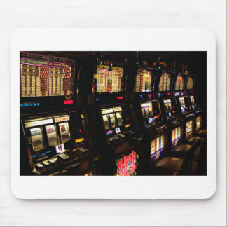 Slot machines mouse pad