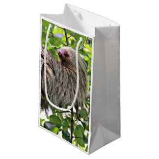 Sloth 2 small gift bag