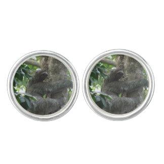 sloth-4.jpg cuff links