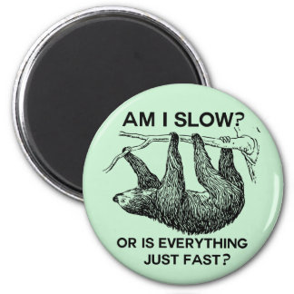 Sloth am I slow? Magnet