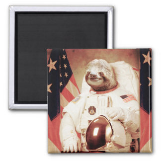 Sloth astronaut-sloth-space sloth-sloth gifts magnet