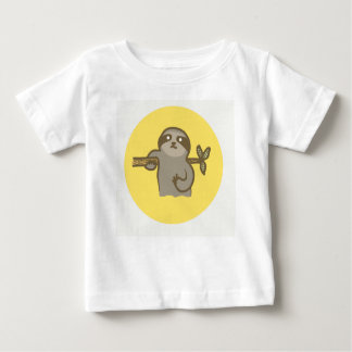 Sloth Baby Fine Jersey T-Shirt