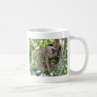 sloth basic white mug