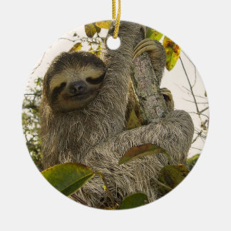 Sloth Christmas Ornament