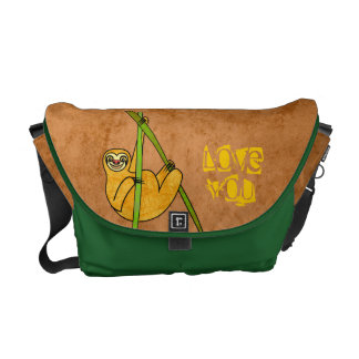 Sloth Commuter Bags