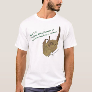 SLOTH- Definition T-Shirt