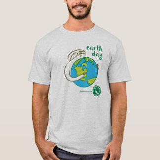 Sloth Earth Day Tee