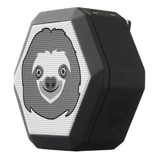 Sloth Face Black Bluetooth Speaker