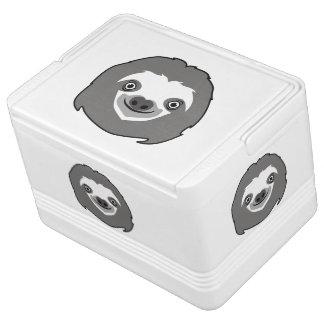 Sloth Face Igloo Cool Box