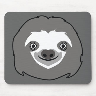 Sloth Face Mouse Mat