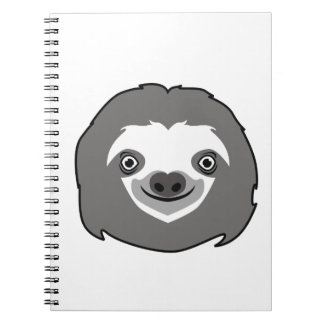 Sloth Face Notebook