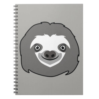 Sloth Face Notebooks