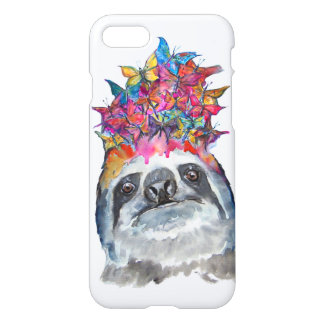Sloth Flower iPhone 8/7 Case