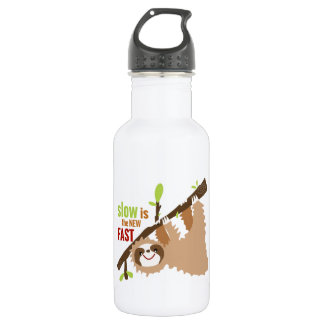 Sloth Gear - Slow is the New Fast 532 Ml Water Bottle