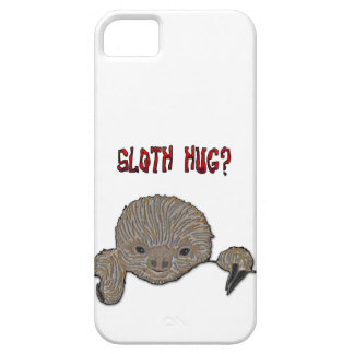 Sloth Hug Baby Sloth Barely There iPhone 5 Case