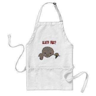 Sloth Hug Baby Sloth Standard Apron