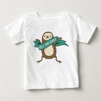 Sloth Illustration Baby T-Shirt