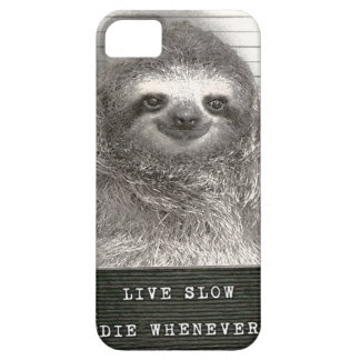 Sloth in a Mugshot Case For The iPhone 5