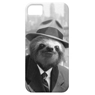 Sloth in New York iPhone 5 Cases