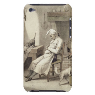 Sloth in the Kitchen, from a series of prints depi iPod Touch Case-Mate Case