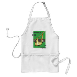 Sloth -Just Say NO Standard Apron